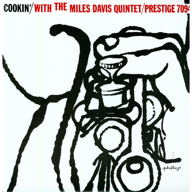 Miles Davis COOKIN WITH THE QUINTET Vinyl Record