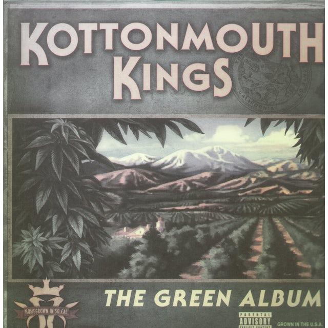 Kottonmouth Kings GREEN ALBUM Vinyl Record