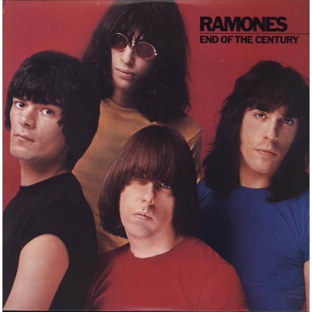 Ramones END OF THE CENTURY Vinyl Record - 180 Gram Pressing