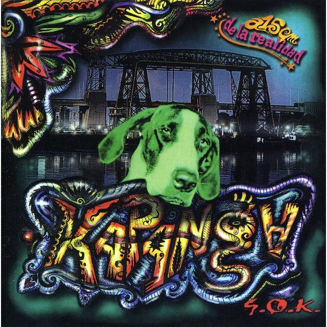 Kapanga 5 CENTRIMETROS DE LA REALID CD