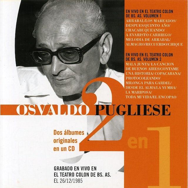 Osvaldo Pugliese EN EL COLON VOL 1 & 2 CD