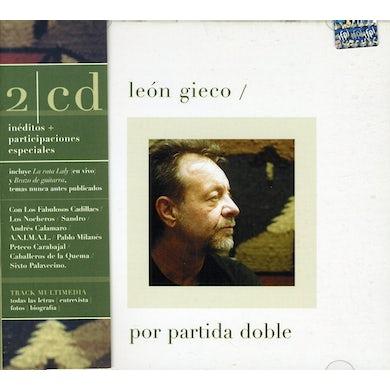 Leon Gieco POR PARTIDA DOBLE CD