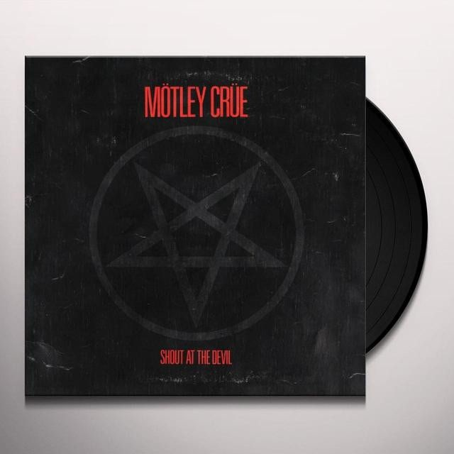 Mötley Crüe SHOUT AT THE DEVIL Vinyl Record