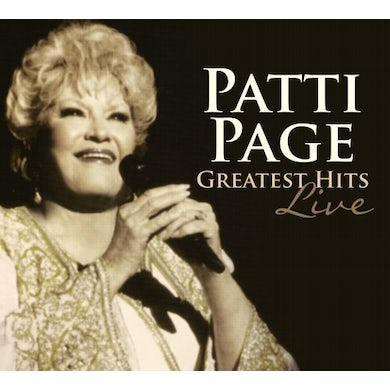 Patti Page GREATEST HITS LIVE CD