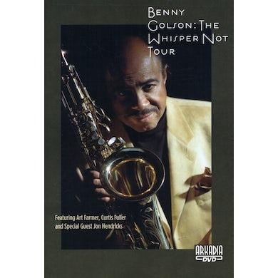 Benny Golson WHISPER NOT TOUR DVD