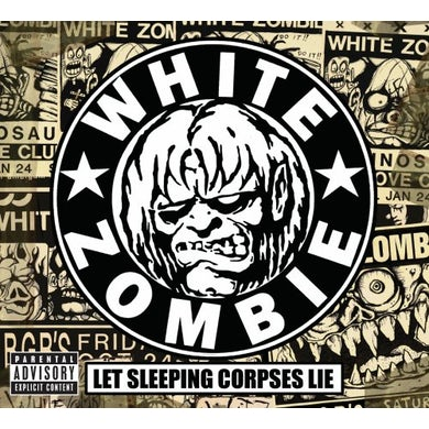 White Zombie LET SLEEPING CORPSES LIE CD