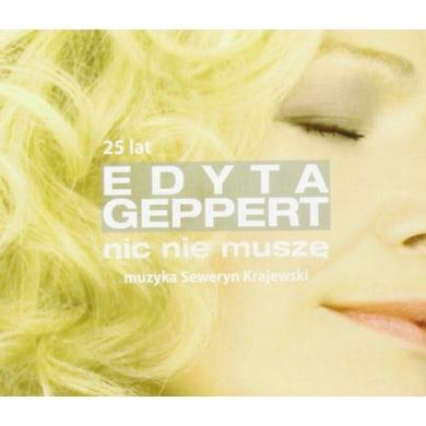 Edyta Geppert NIC NIE MUSZE - 25 LECIE CD