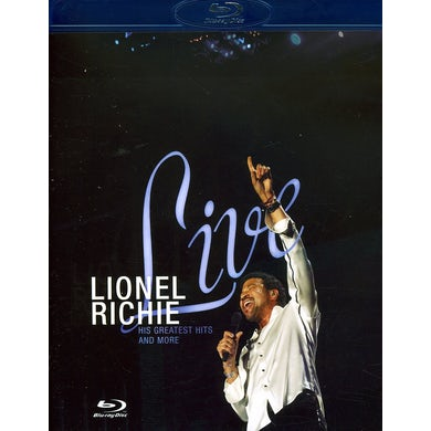 Lionel Richie LIVE: HIS GREATEST HITS & MORE Blu-ray