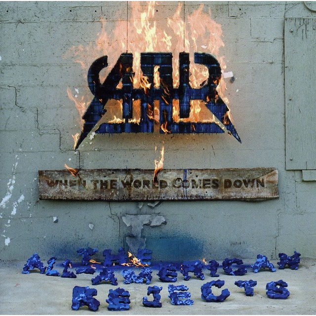 The All-American Rejects WHEN THE WORLD COMES DOWN CD