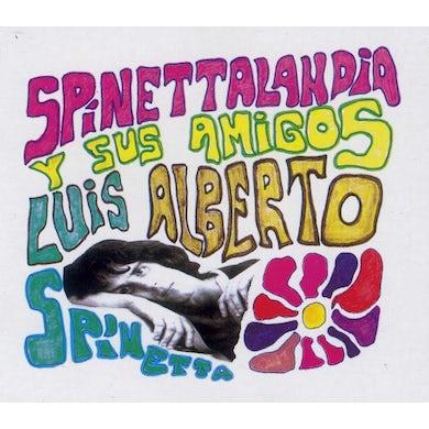 Luis Alberto Spinetta SPINETTALANDIA Y SUS AMIGOS CD