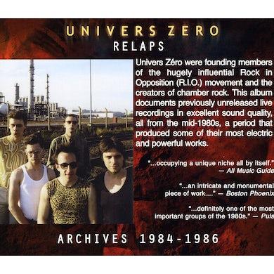 UNIVERS ZERO RELAPS: ARCHIVES 1984 - 1986 CD