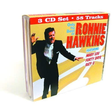 Ronnie Hawkins ONLY THE BEST OF CD