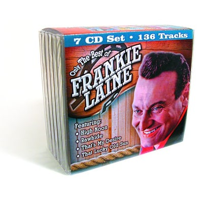 Frankie Laine ONLY THE BEST OF CD