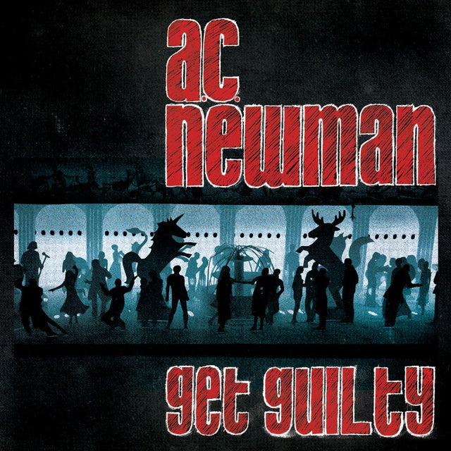 Ac Newman GET GUILTY Vinyl Record