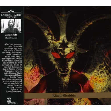 Jamie Saft BLACK SHABBIS CD