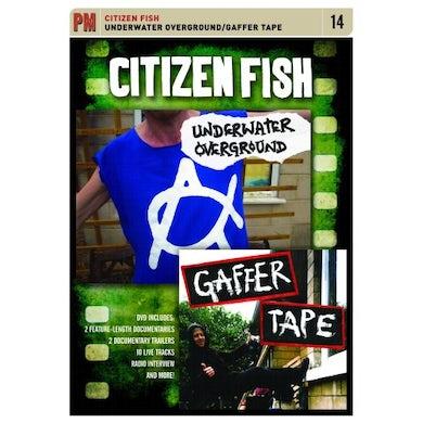 Citizen Fish UNDERWATER OVERGROUND: GAFFER TAPE DVD