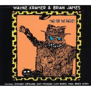Wayne Kramer MAD FOR THE RACKET CD