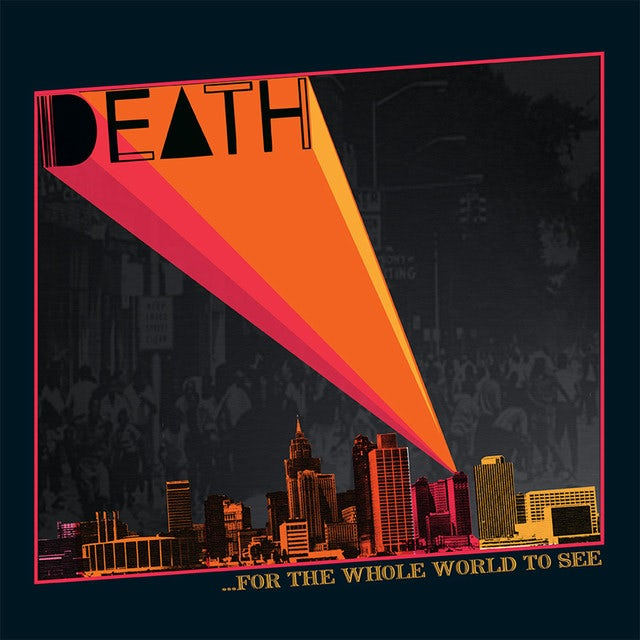 Death FOR THE WHOLE WORLD TO SEE Vinyl Record