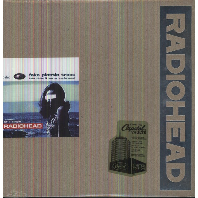 Radiohead FAKE PLASTIC TREES PT 1 (EP) Vinyl Record - Limited Edition, 180 Gram Pressing