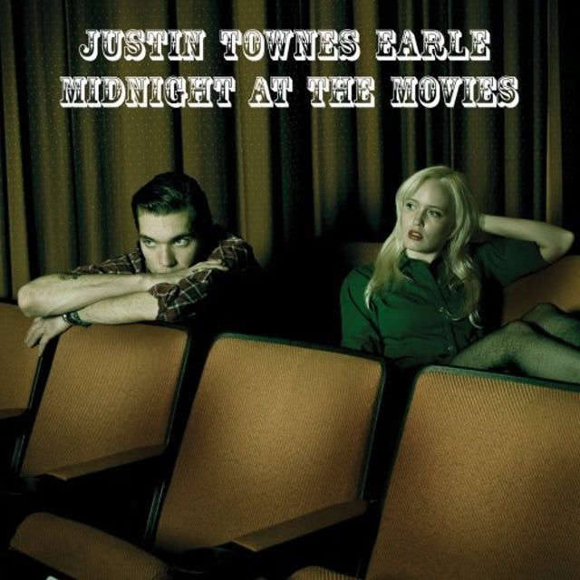 Justin Townes Earle MIDNIGHT AT THE MOVIES Vinyl Record
