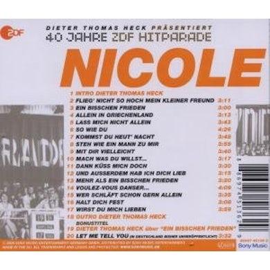Nicole DAS BESTE AUS 40 JAHREN HITPARADE CD