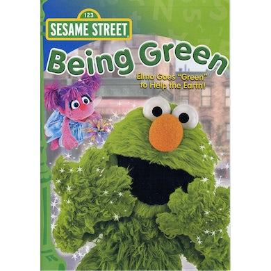 Sesame Street BEING GREEN DVD