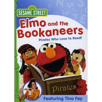 Sesame Street ELMO & THE BOOKANEERS: PIRATES WHO LOVE TO READ DVD