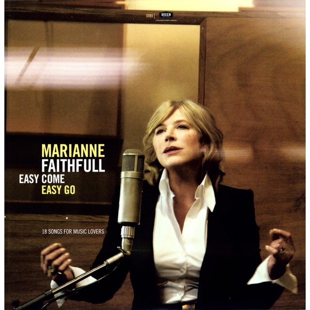 Marianne Faithfull EASY COME EASY GO Vinyl Record