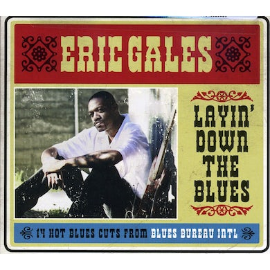 Eric Gales LAYIN DOWN THE BLUES CD