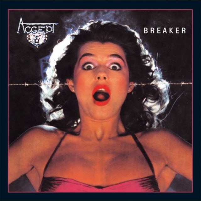 Accept BREAKER Vinyl Record
