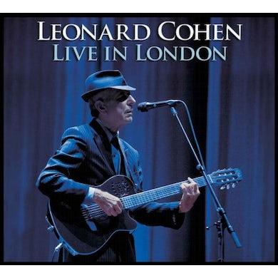 Leonard Cohen LIVE IN LONDON CD