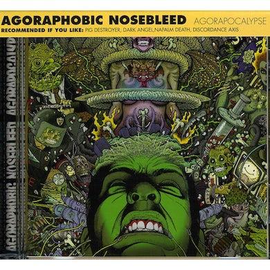 Agoraphobic Nosebleed AGORAPOCALYPSE CD