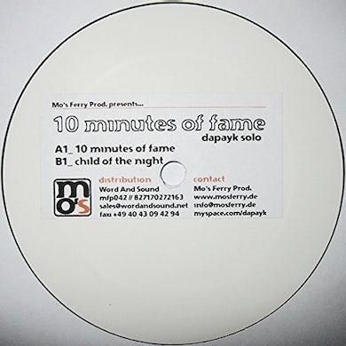 Dapayk Solo 10 MINUTES OF FAME Vinyl Record