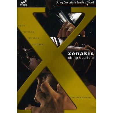 Iannis Xenakis STRING QUARTETS: JACK QUARTET DVD