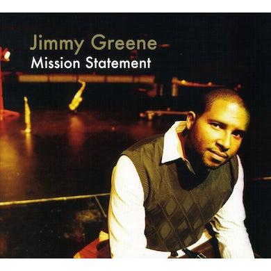 Jimmy Greene MISSION STATEMENT CD