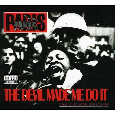 Paris DEVIL MADE ME DO IT CD