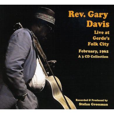 Rev Gary Davis LIVE AT GERDES FOLK CITY 1962 CD