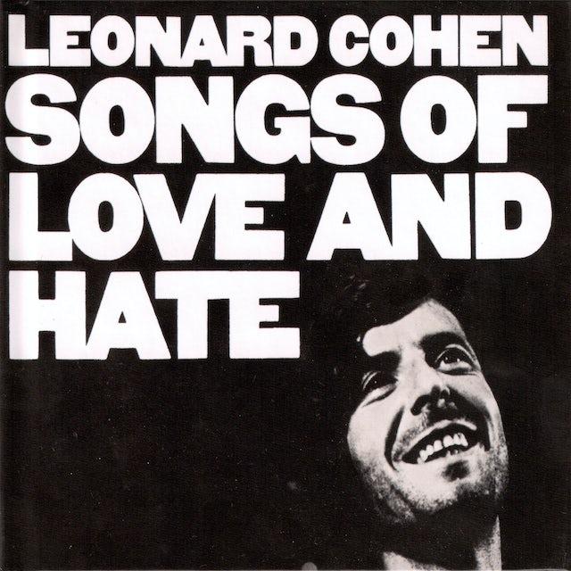 Leonard Cohen SONGS OF LOVE & HATE Vinyl Record