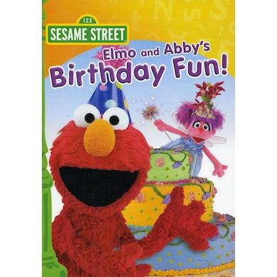 Sesame Street ELMO & ABBY'S BIRTHDAY FUN DVD