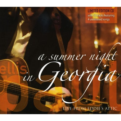 Ellis Paul SUMMER NIGHT IN GEORGIA CD