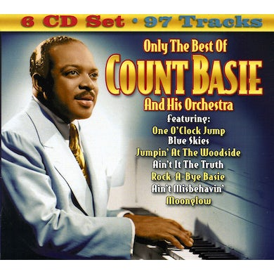 ONLY THE BEST OF COUNT BASIE & HIS ORCHESTRA CD