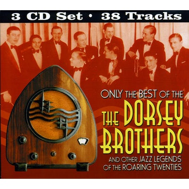 ONLY THE BEST OF DORSEY BROTHERS CD