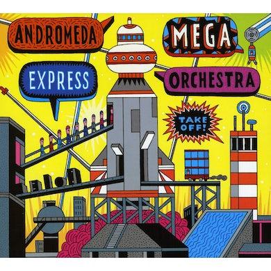 Andromeda Mega Express Orchestra TAKE OFF CD