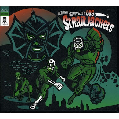 FURTHER ADVENTURES OF LOS STRAITJACKETS CD