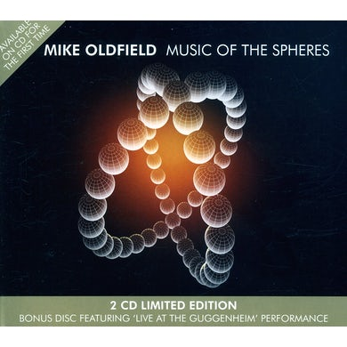 Mike Oldfield MUSIC OF THE SPHERE CD