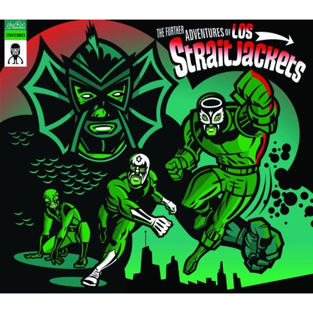 FURTHER ADVENTURES OF LOS STRAITJACKETS Vinyl Record