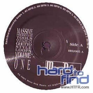 Massive PRODUCER TOOLS (GHETTO LOOPS) Vinyl Record