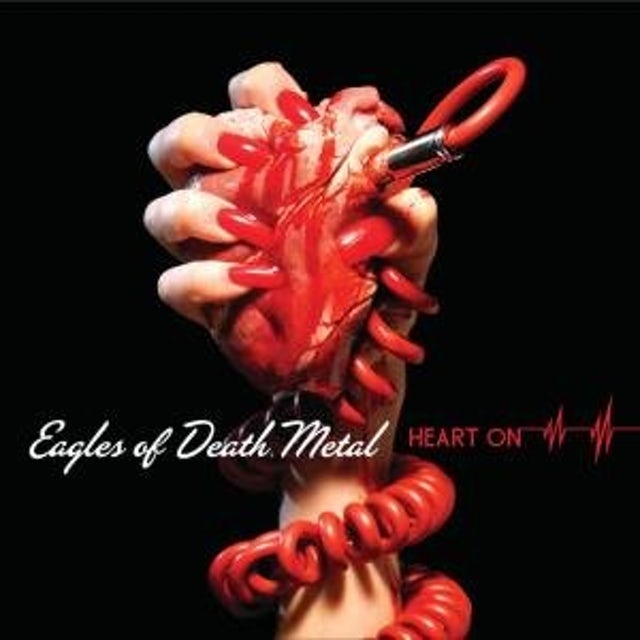 Eagles Of Death Metal HEART ON Vinyl Record