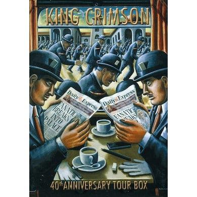 King Crimson 40TH ANNIVERSARY TOUR BOX CD