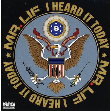 Mr Lif I HEARD IT TODAY CD